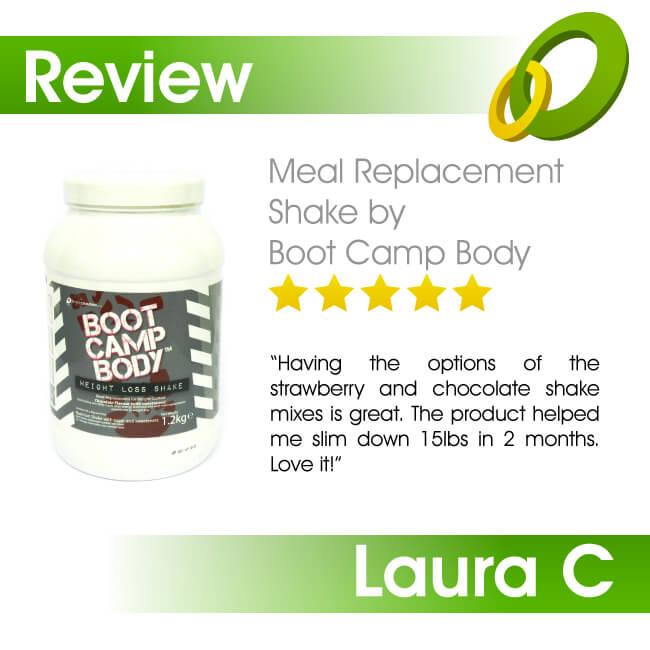 boot camp body diet shake