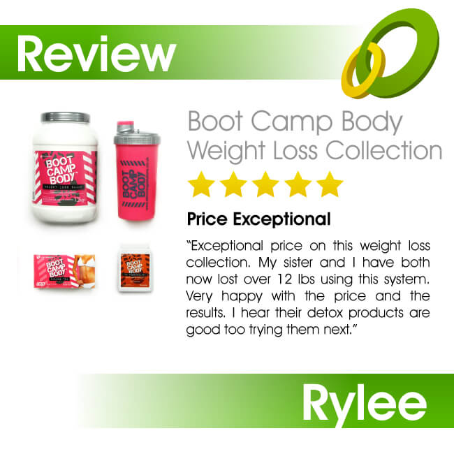 The Boot Camp Body Weight Loss Collection
