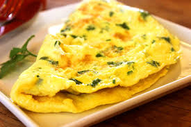 spinach-omelette