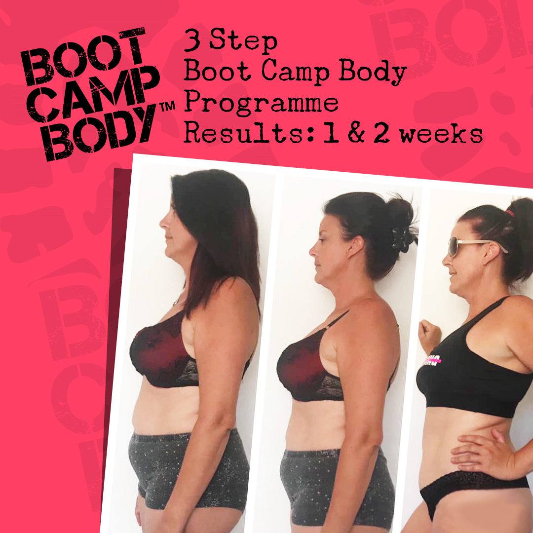 3 Step Boot Camp Body Programme - Option 1