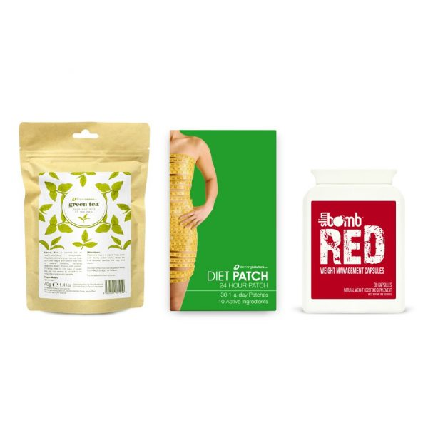 green tea diet patch slim bomb